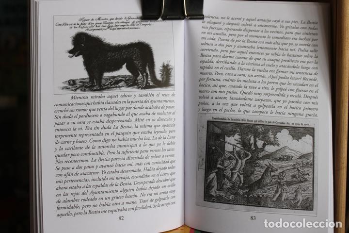Libros antiguos: La Bestia (Del Gevaudan) (Una historia real) Antonio Ruiz Vega - Foto 5 - 171334083