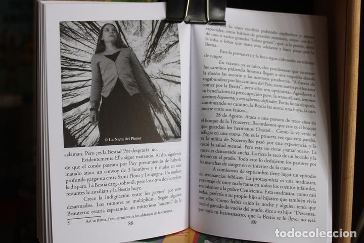 Libros antiguos: La Bestia (Del Gevaudan) (Una historia real) Antonio Ruiz Vega - Foto 6 - 171334083