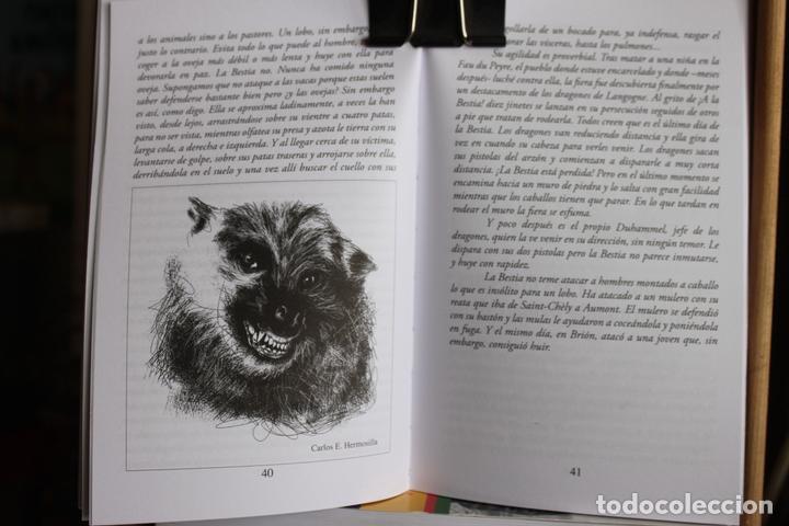 Libros antiguos: La Bestia (Del Gevaudan) (Una historia real) Antonio Ruiz Vega - Foto 8 - 171334083