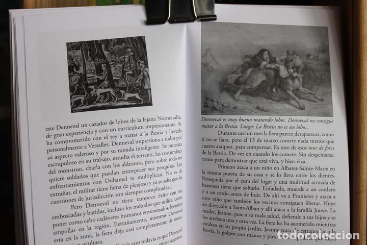 Libros antiguos: La Bestia (Del Gevaudan) (Una historia real) Antonio Ruiz Vega - Foto 9 - 171334083