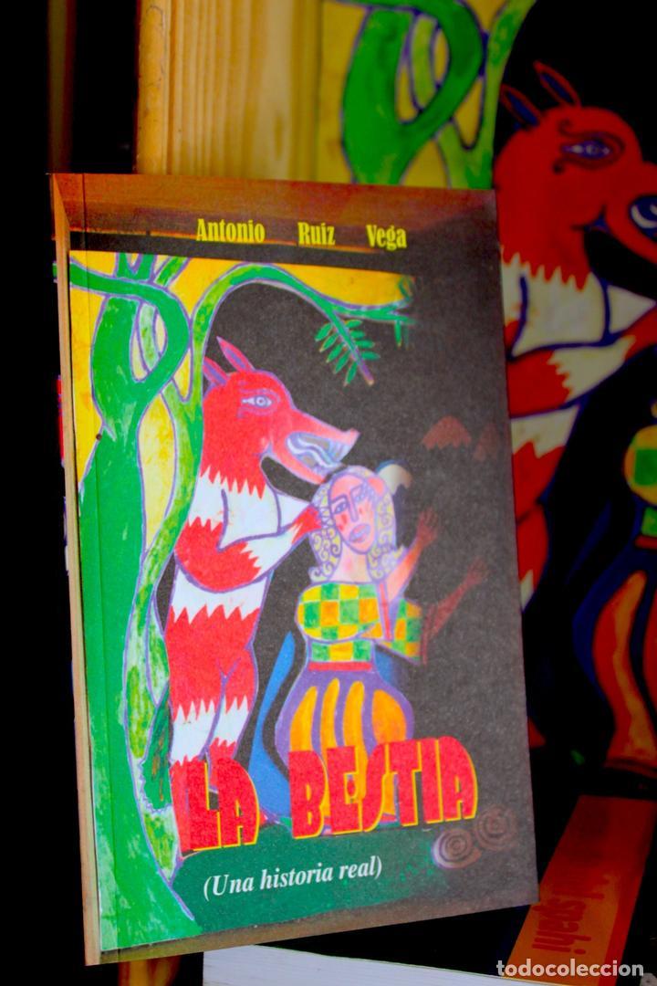 LA BESTIA (DEL GEVAUDAN) (UNA HISTORIA REAL) ANTONIO RUIZ VEGA (Libros antiguos (hasta 1936), raros y curiosos - Literatura - Narrativa - Novela Histórica)