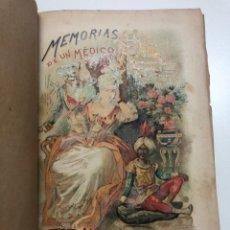 Libros antiguos: ALEJANDRO DUMAS. MEMORIAS DE UN MÉDICO (RECUERDOS DE LA REVOLUCIÓN FRANCESA). 1889. Lote 171338904