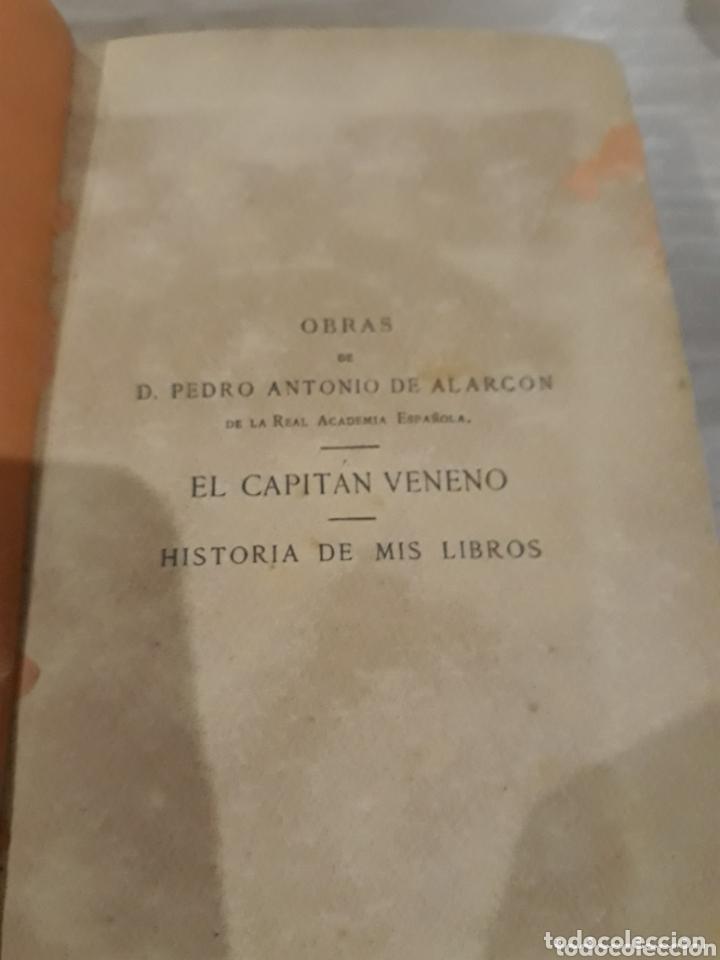 Libros antiguos: EL CAPITAN VENENO AÑO 1885 - Foto 3 - 172375015