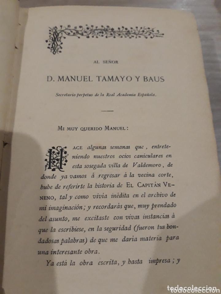 Libros antiguos: EL CAPITAN VENENO AÑO 1885 - Foto 5 - 172375015