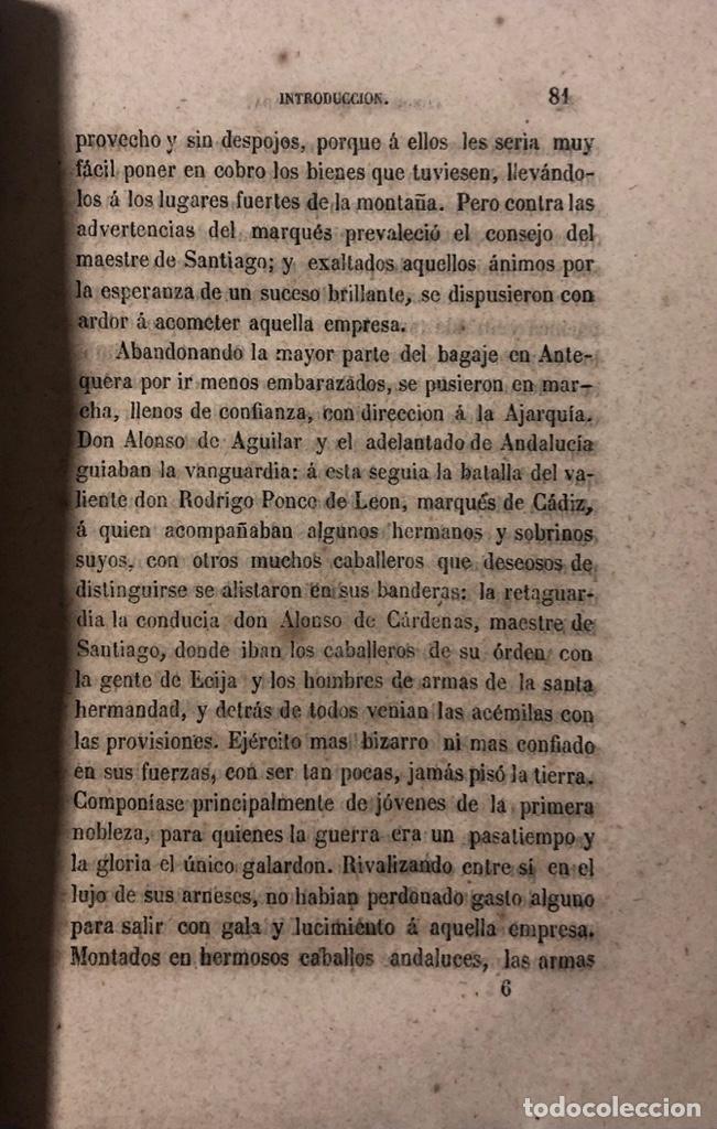 Libros antiguos: LA CONQUISTA DE GRANADA, H.L. BULWER. MADRID, 1860. PAGINAS: 770. - Foto 3 - 173857932
