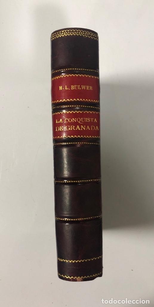 Libros antiguos: LA CONQUISTA DE GRANADA, H.L. BULWER. MADRID, 1860. PAGINAS: 770. - Foto 4 - 173857932