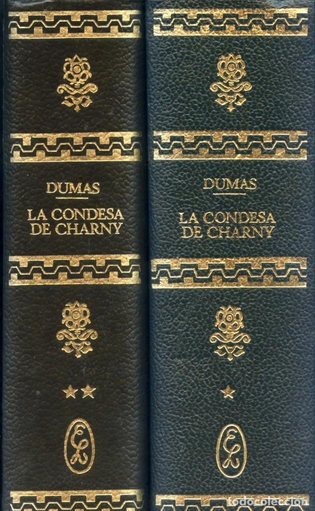 ALEJANDRO DUMAS. LA CONDESA DE CHARNY. (Libros antiguos (hasta 1936), raros y curiosos - Literatura - Narrativa - Novela Histórica)