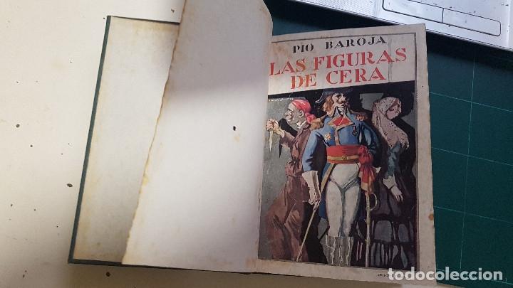 Libros antiguos: Pío Baroja - LAS FIGURAS DE CERA. Carlo Raggio calle Mendizabal, segunda edición, conserva portada - Foto 3 - 174172975