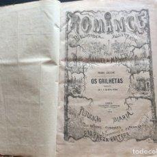 Libros antiguos: PEDRO ZACCONE, OS GRILHETAS, 1876. ILUSTRADO.1.ª EDICIÓN PORTUGUESA.. Lote 175727347
