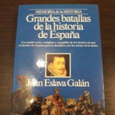 Libros antiguos: GRANDES BATALLAS DE LA HISTORIA DE ESPAÑA . Lote 177283715