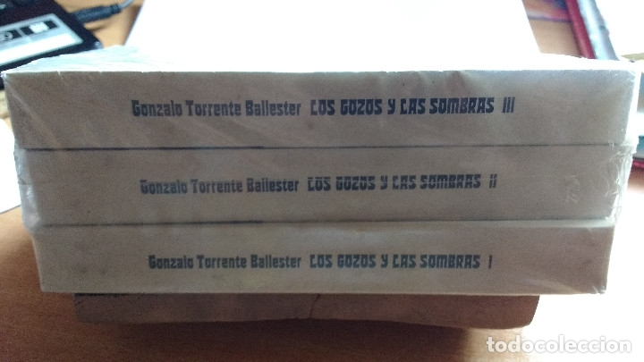 Libros antiguos: Trilogía LOS GOZOS Y LAS SOMBRAS - Foto 2 - 177569327