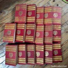 Libros antiguos: 17 TOMOS EPISODIOS NACIONALES. BENITO PEREZ GALDÓS. 1903 A 1909.. Lote 176722179