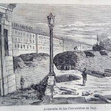 Libros antiguos: LOS ROJOS REVOLUCIÓN FRANCESA DE 1871 CEFERINO TESERRA. Lote 178048068