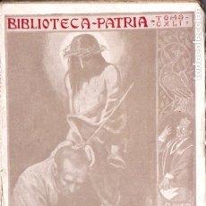 Libros antiguos: V. DÍAZ DE TEJADA : EL CRIMEN DEL CAJIGAL (BIBL. PATRIA, C. 1920) . Lote 178120920