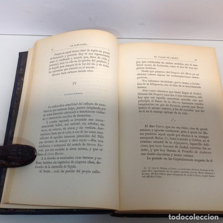 Libros antiguos: LA ALPUJARRA SESENTA LEGUAS A CABALLO PEDRO ANTONIO DE ALARCON 187 - Foto 4 - 178901936