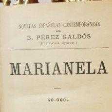 Libros antiguos: MARIANELA,B.PEREZ GALDOS,1917.. Lote 179226895