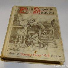 Libros antiguos: DON QUIJOTE DE LA MANCHA 1876.MIGUEL DE CERVANTES . EDIT SATURNINO CALLEJA. Lote 180161491