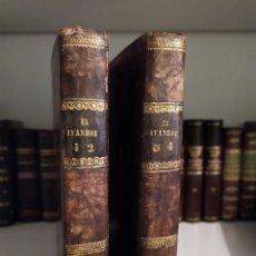 Libros antiguos: WALTER SCOTT - IVANHOE - OFICINA DE MORENO - 1831. Lote 180172373