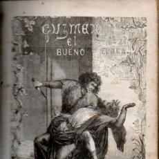 Libros antiguos: RAMÓN ORTEGA Y FRÍAS : GUZMÁN EL BUENO SEGUNDA ÉPOCA (MURCIA Y MARTÍ, 1859). Lote 180248398