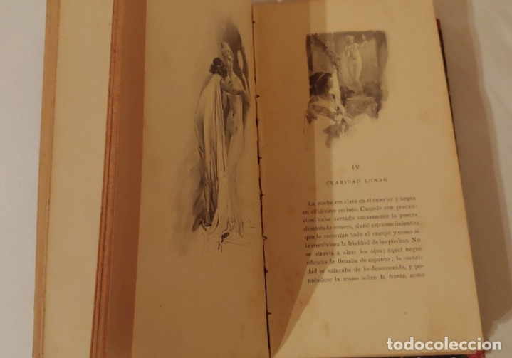 Libros antiguos: (1898) Afrodita- Pierre Louys Costumbres antiguas. Ilustraciones A- Calbet - Foto 5 - 181415015