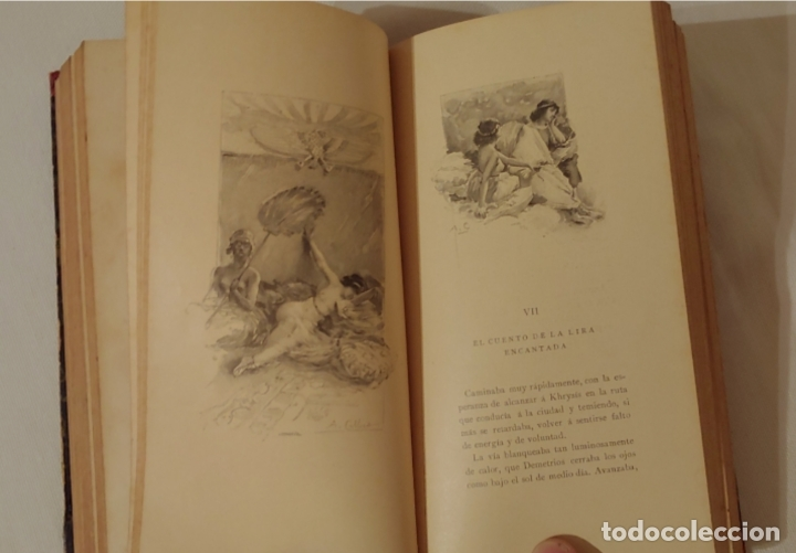 Libros antiguos: (1898) Afrodita- Pierre Louys Costumbres antiguas. Ilustraciones A- Calbet - Foto 6 - 181415015