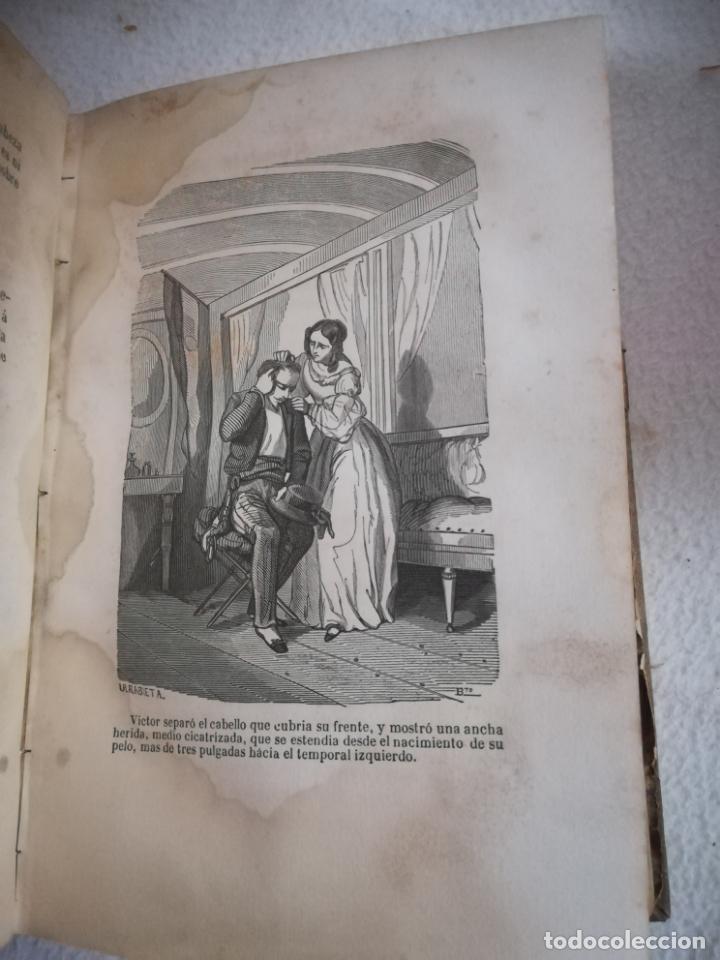 Libros antiguos: EL MILANO DE LOS MARES. ALEJANDRO BENISIA. 4 TOMOS EN 2 VOLUMENES. 1855. SEVILLA. VER GRABADOS. LEER - Foto 5 - 181863553