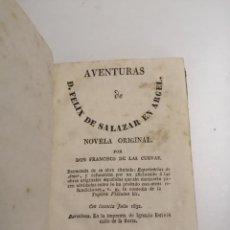 Libros antiguos: AVENTURAS DE FELIX DE SALAZAR EN ARGEL. FRANCISCO DE LAS CUEVAS.1832 BARCELONA.IM.: IGNACIO ESTIVILL. Lote 183367855