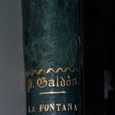 Libros antiguos: LA FONTANA DE ORO - 1871 - PRIMERA EDICION - 1871 - BENITO PEREZ GALDOS - TDK125. Lote 183732755