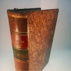 Libros antiguos: AVENTURAS DE GIL BLAS DE SANTILLANA. MR. LESAGE. TRADUCCIÓN PADRE ISLA. TOMO PRIMERO. MADRID. 1888.. Lote 184637235