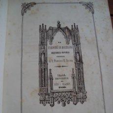 Libros antiguos: LA HUERFANA DE BARCELONA. FRANCISCO M. SERVERA. PALMA DE MALLORCA, 1850.. Lote 185751777