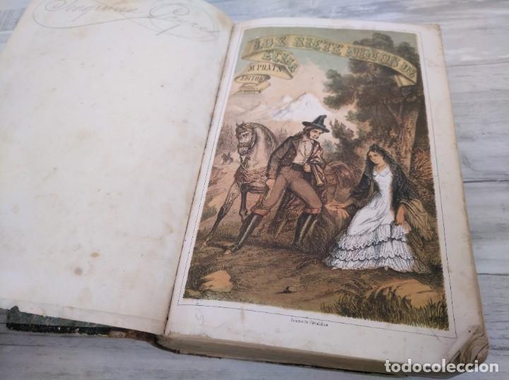 Libros antiguos: LOS SIETE NIÑOS DE ÉCIJA (1863) - ILUSTRADO CON 17 LÁMINAS - Foto 3 - 186153163