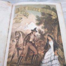 Libros antiguos: LOS SIETE NIÑOS DE ÉCIJA (1863) - ILUSTRADO CON 17 LÁMINAS. Lote 186153163