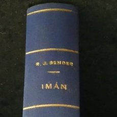 Libros antiguos: IMAN. RAMÓN J. SENDER. PRIMERA EDICIÓN 1930. PRIMERA OBRA DEL AUTOR. EDITORIAL CENIT MADRID. Lote 187124122