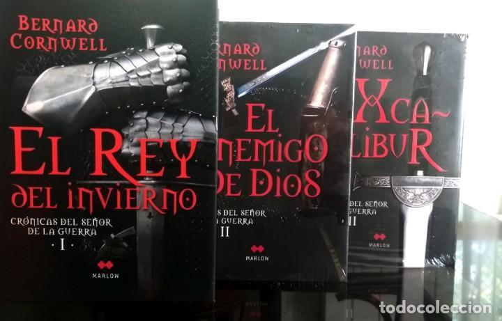 TRILOGÍA CRÓNICAS DEL SEÑOR DE LA GUERRA (BERNARD CORNWELL) NUEVOS - 2 PRECINTADOS (Libros antiguos (hasta 1936), raros y curiosos - Literatura - Narrativa - Novela Histórica)
