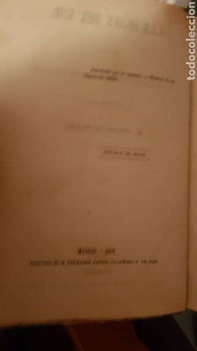 Libros antiguos: LAS HIJAS DEL CID. ANTONIO DE TRUEBA. MADRID 1859. NOVELA SIGLO XIX. - Foto 3 - 187465446