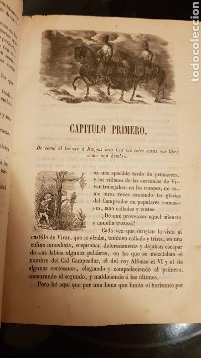 Libros antiguos: LAS HIJAS DEL CID. ANTONIO DE TRUEBA. MADRID 1859. NOVELA SIGLO XIX. - Foto 4 - 187465446