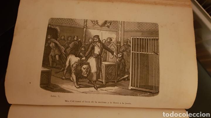 Libros antiguos: LAS HIJAS DEL CID. ANTONIO DE TRUEBA. MADRID 1859. NOVELA SIGLO XIX. - Foto 5 - 187465446