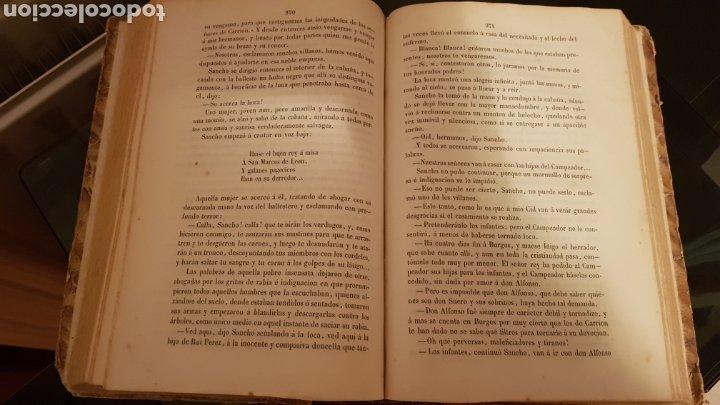 Libros antiguos: LAS HIJAS DEL CID. ANTONIO DE TRUEBA. MADRID 1859. NOVELA SIGLO XIX. - Foto 6 - 187465446