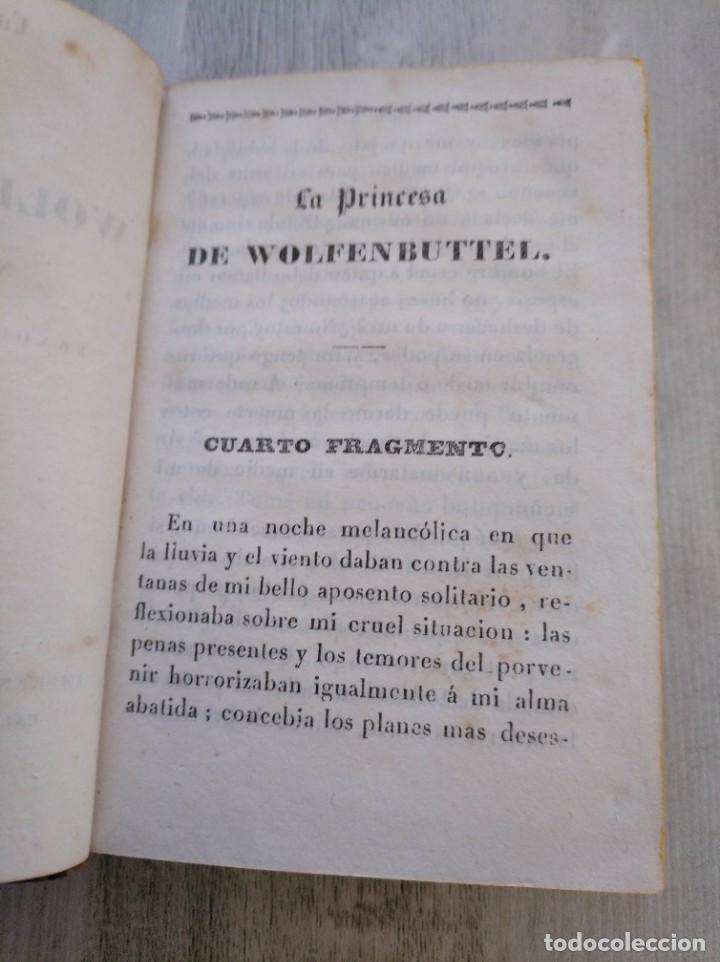 Libros antiguos: LA PRINCESA DE WOLFENBUTTEL (1833) - NOVELA HISTÓRICA EN 2 TOMOS - Foto 11 - 190027816
