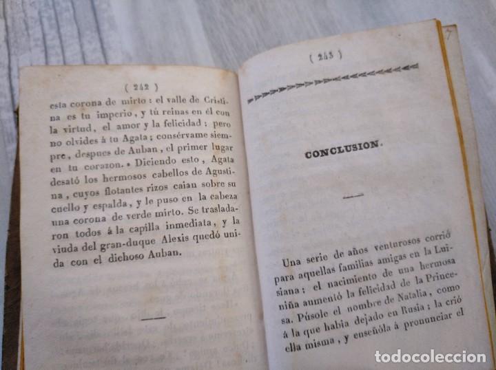 Libros antiguos: LA PRINCESA DE WOLFENBUTTEL (1833) - NOVELA HISTÓRICA EN 2 TOMOS - Foto 14 - 190027816