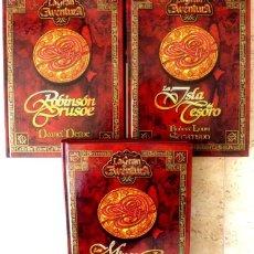 Libros antiguos: LIBROS- LA GRAN AVENTURA- FOTO 595 - 3 TOMOS. Lote 190607773