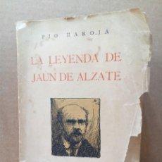 Libros antiguos: ANTIGUA NOVELA DE PIO BAROJA DEL AÑO 1922. Lote 191356547