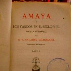 Libros antiguos: LOS VASCOS EN EL SIGLO VIII - 2 TOMOS - PORTAL DEL COL·LECCIONISTA *****. Lote 191460305