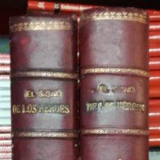 Libros antiguos: EL SINO DE LOS HEROES. 2 TOMOS - FLORENCIO LUIS PARREÑO; FELIPE GONZALEZ ROJAS EDITOR 1889 1890 (EI). Lote 192382432