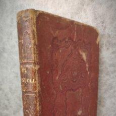 Libros antiguos: 1845 - EL CASTELLANO O EL PRINCIPE NEGRO DE ESPAÑA POR TELESFORO DE TRUEBA Y COSIO TOMO I BARCELONA. Lote 193619472