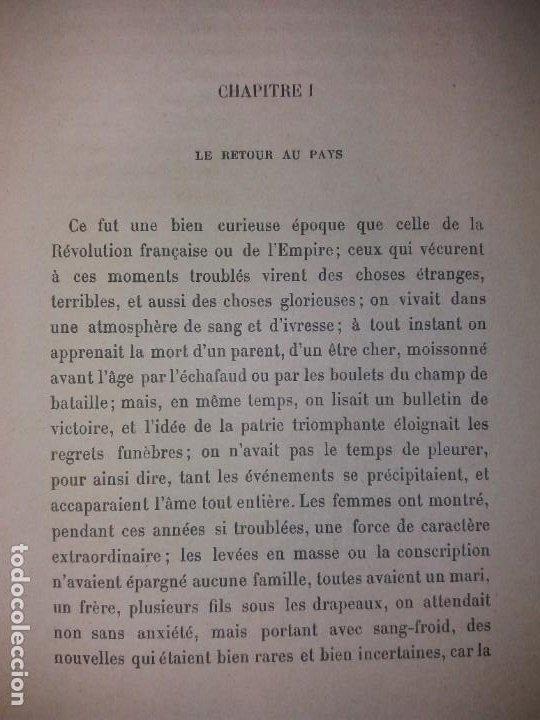 Libros antiguos: BONITO LIBRO 1890 LA VIVANDIERE NOVELA HISTORICA SOBRE NAPOLEON - Foto 8 - 193792067