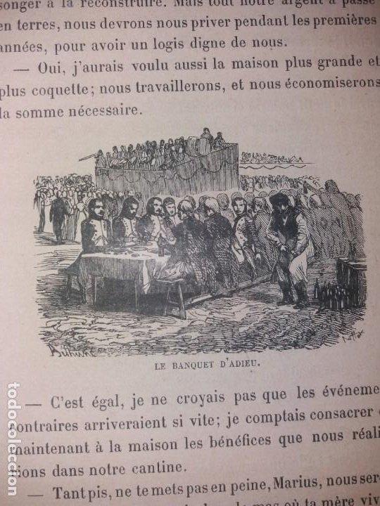 Libros antiguos: BONITO LIBRO 1890 LA VIVANDIERE NOVELA HISTORICA SOBRE NAPOLEON - Foto 10 - 193792067