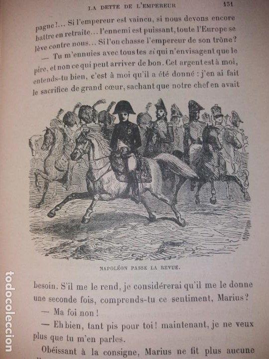 Libros antiguos: BONITO LIBRO 1890 LA VIVANDIERE NOVELA HISTORICA SOBRE NAPOLEON - Foto 11 - 193792067