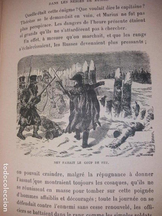 Libros antiguos: BONITO LIBRO 1890 LA VIVANDIERE NOVELA HISTORICA SOBRE NAPOLEON - Foto 12 - 193792067