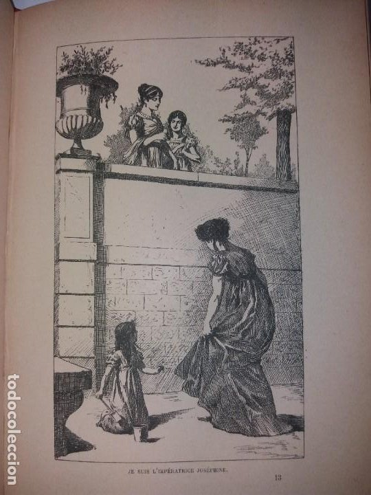 Libros antiguos: BONITO LIBRO 1890 LA VIVANDIERE NOVELA HISTORICA SOBRE NAPOLEON - Foto 18 - 193792067